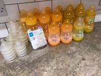 Baby bottles. Mam anti colic.