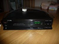 Compact Disc Player model: Phillips CD371 in Black and in very good condition