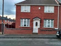 3 Bed house with garage, rent £570.00 pcm