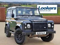 Land Rover Defender 90 TD AUTOBIOGRAPHY STATION WAGON (black) 2015-07-09