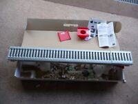 ACO drive drain Channel and grating, Brand New and unused (120.5 length x 13.5 cm wide)