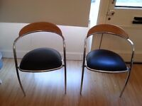 2 Dining or Desk Chairs