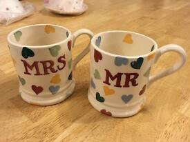 Emma Bridgewater Mr & Mrs Spot Mugs