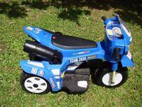 "Child's battery powered trike - ""Valentino Rossi"" by Motorama"