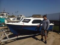 Shetland 535 Sea/River Boat For Sale.