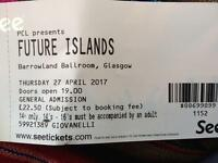 Future Islands Barrowlands Glasgow