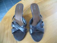 Brown wedge sandal from Next Size 6