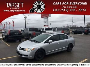 2007 Acura CSX Two Sets of Tires with Rims, Drives Great Very Cl