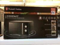 Russell Hobbs black 20L 800w microwave