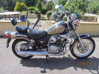 Sym Husky 125cc 'Cruiser Style' Motor Bike
