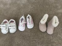 Designer baby girl shoes £8 for all