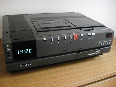 Sony SL-C7UB Betamax Video Recorder - Excellent Condition - New Heads Fitted