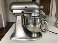 KitchenAid 150 Artisan 4.8L Stand Mixer, Contour Silver