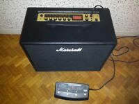 Marshall Code 50 combo with footswitch & cover