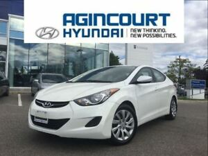 2013 Hyundai Elantra GL/HEATED SEATS/BLUETOOTH/OFF LEASE