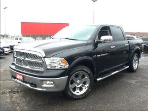 2012 Ram 1500 LARAMIE**LEATHER**NAVIGATION**BACK UP CAM**