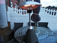 firefly ratton table top heater.