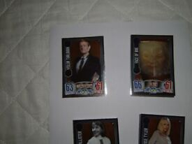 Topps Doctor Who Alien Attax Collectors Card Mirror Foil Card Set (32)