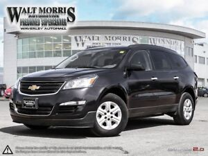 2017 CHEVROLET TRAVERSE LS: ONE OWNER AND ACCIDENT FREE