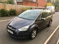 2007 FORD S MAX TDCI ZETEC 7 SEATER LOW MILES 6G s-max diesel like galaxy zafira mpv family car vw s