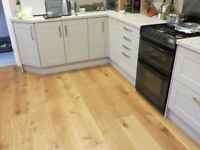 Engineered oak flooring - high quality oiled and brushed