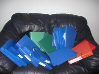 22 Folders - £5 The Lot