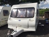 2004 4/5BERTH BEILEY SENATOR GREAT CONDITION INSIDE AND OUTSIDE FIXED BED