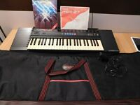 Yamaha PSR-27 Keyboard with Case and Extras