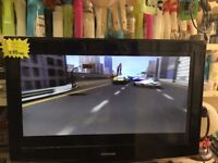 Samsung 32 inch HD LCD TV free view With new remote control pat tested