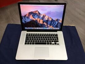 """MACBOOK PRO 15.4"""" i5 4GB RAM 500GB HDD-2010-collection from SHOP E17 9AP-NO OFFER-L924"""