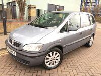 Vauxhall Zafira 2005 (54reg) Automatic gear, New MOT, 7 Seats MPV, Good condition.