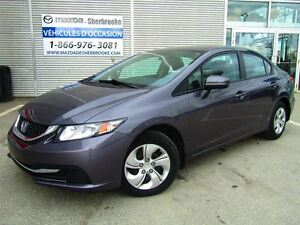 2014 Honda Civic Sedan LX 19000KM SIÉGES CHAUFFANTS BLUETOOTH CL