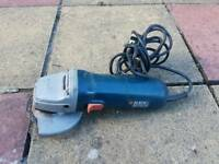 Black and decker, angle grinder