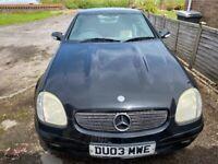 Mercedes-Benz, SLK, Convertible, 2003, Semi-Auto, 1998 (cc), 2 doors