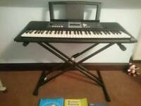 Yamaha YPT-230 keyboard piano. Used once and with stand