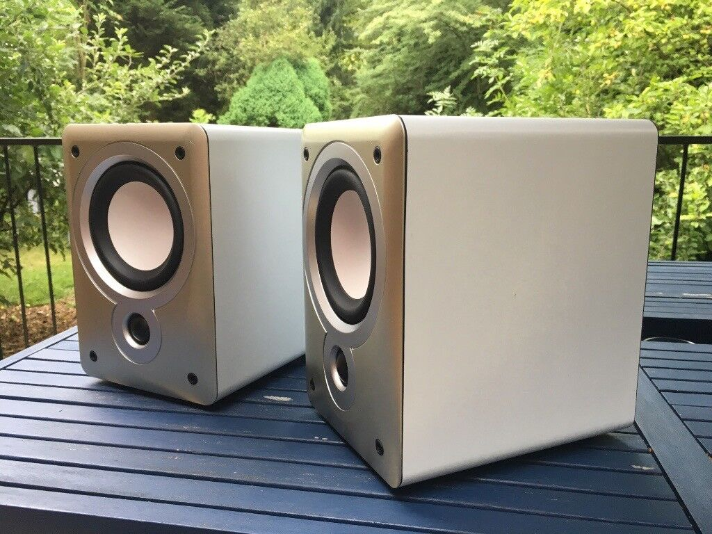 Denon SC F102 Bookshelf Speakers MADE BY MISSION