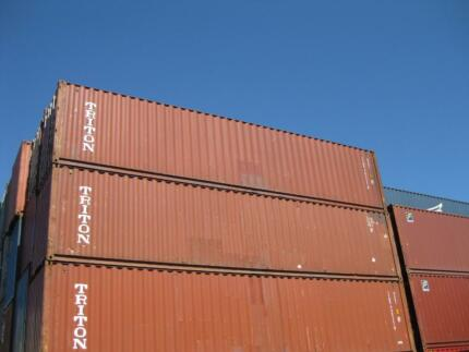 40ft x 9ft6in Shipping Container BRISBANE - hi cube