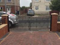Driveway gates and handles