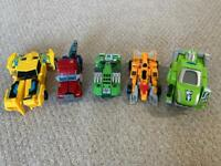 Various different types of transformers