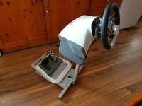 Xbox 360 Wireless Racing Wheel with stand
