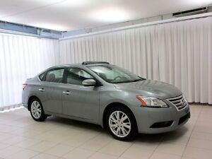 2013 Nissan Sentra SL LEATHER AND NAVIGATION!!
