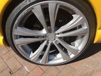 """19"""" wheels and tyres. 5x114.3 Lexus, Honda etc"""