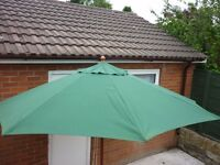Large Wooden Garden Umbrella
