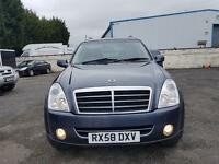 2008 SSANGYONG REXTON 2.7 DIESEL ESTATE GREY