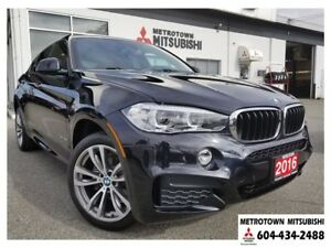 2016 BMW X6 xDrive35i; Local BC vehicle!