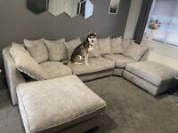 🌟⭕Luxury U Shape Sofa For Sale🌟⭕ 🚒Delivery Free🚒