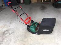 Qualcast electric cylinder mower