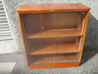 Retro Glass fronted Book case/Display cabinet/Annie Sloan Project