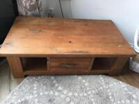 Solid oak coffee table ( Hatford range from Next)