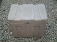 trailer tent front storage box, sunncamp, conway